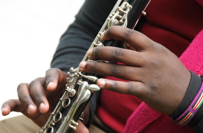 Music Oyo Stock Photo